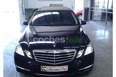 Mercedes E 300CDI BE Avantgarde 7G - 28.490 € - coches.com
