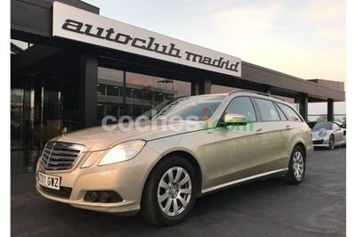 Mercedes Clase E E Estate 250cdi Be Aut. 5 p. en Madrid