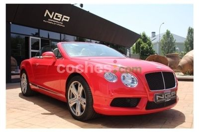 Bentley Continental GT Convertible V8 - 135.000 € - coches.com