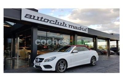 Mercedes Clase E E Cabrio 350bluetec Aut. 2 p. en Madrid