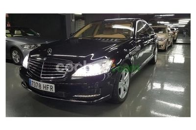 Mercedes Clase S S 500 Be Largo Aut. 4 p. en Madrid