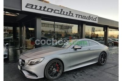 Mercedes S Coupé 63 AMG 4Matic Aut. - 145.000 € - coches.com
