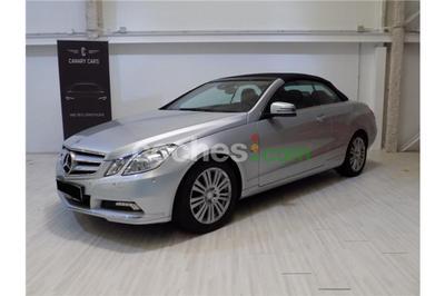 Mercedes E Cabrio 250 CGI BE Aut. - 30.900 € - coches.com