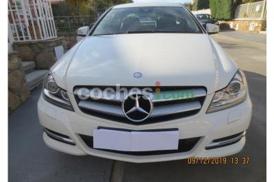 Mercedes C Coupé 220CDI BE BlueEfficiency Edition - 26.000 € - coches.com